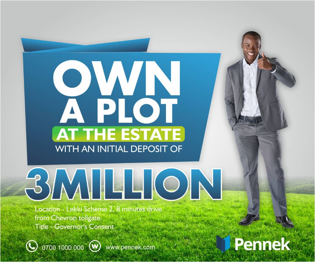 Own A Property 8Mins from Chevron Lekki Toll Gate