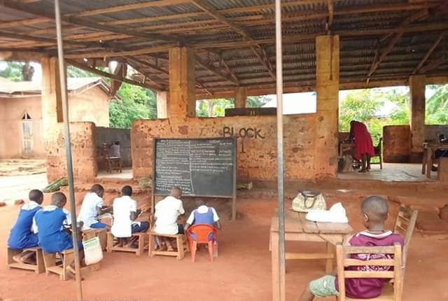 Man bemoans state of a primary school in Enugu State