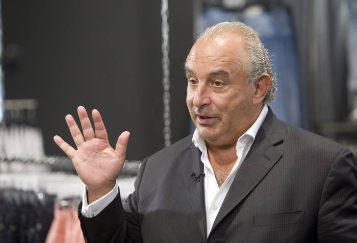 Sir Philip Green charged with misdemeanour assault in US over claims he 'vigorously spanked and groped' a Pilates instructor