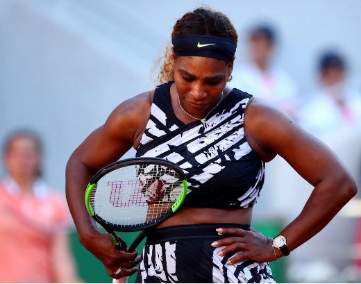 Serena Williams knocked out in the third round of the French Open by 20-year-old American,Sofia Kenin