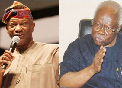 'Shut up and act like an elder; I've not left PDP - Jimi Agbaje tells Bode George