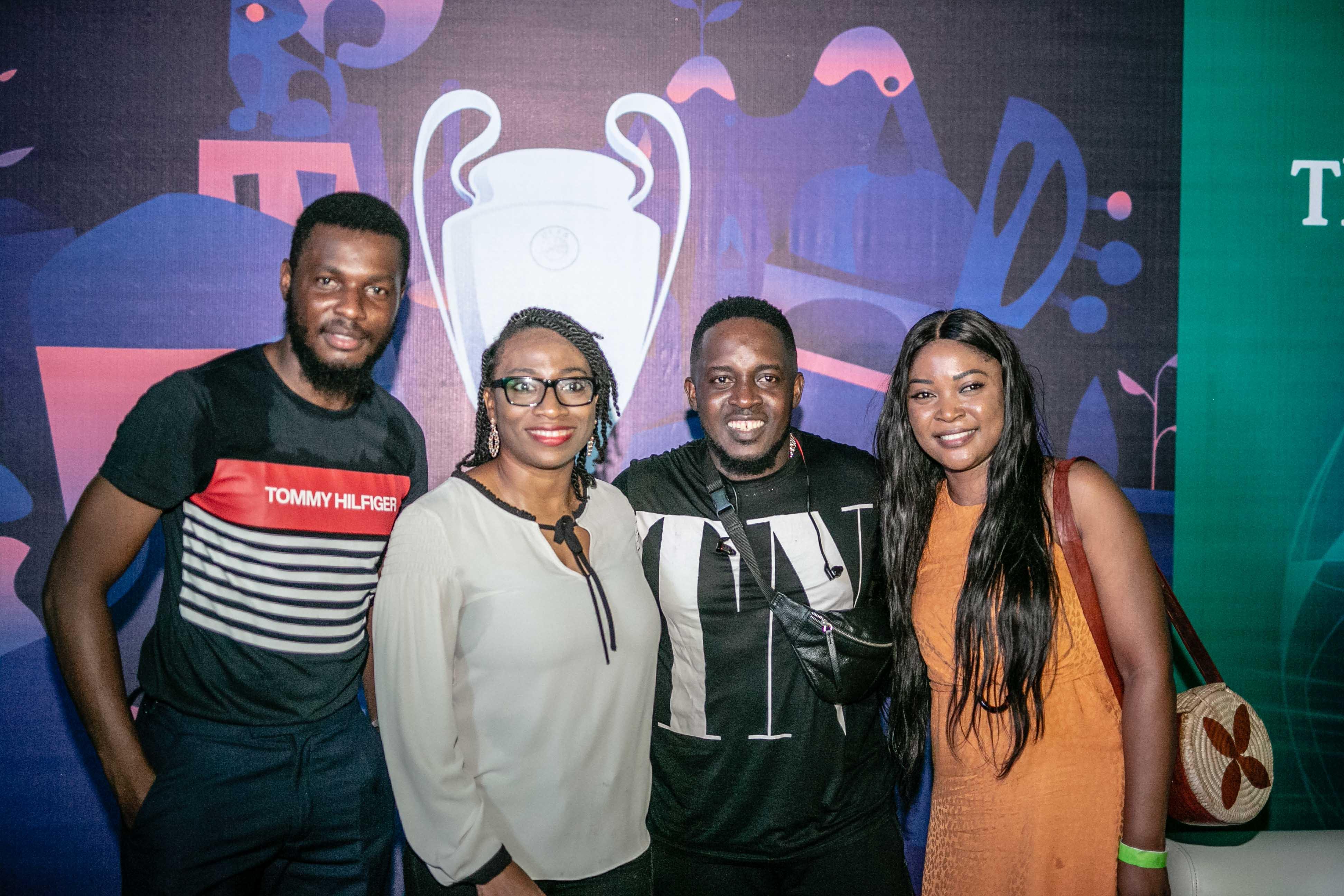 MI Abaga, TeeA, Uti Nwachukwu, DJ BigN, Folu Storms, and More Excite Consumers at The Heineken UCL Final Match Viewing