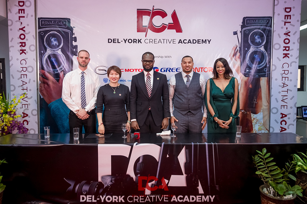 Del- York Creative Academy set to re-skill Africa's creative industry