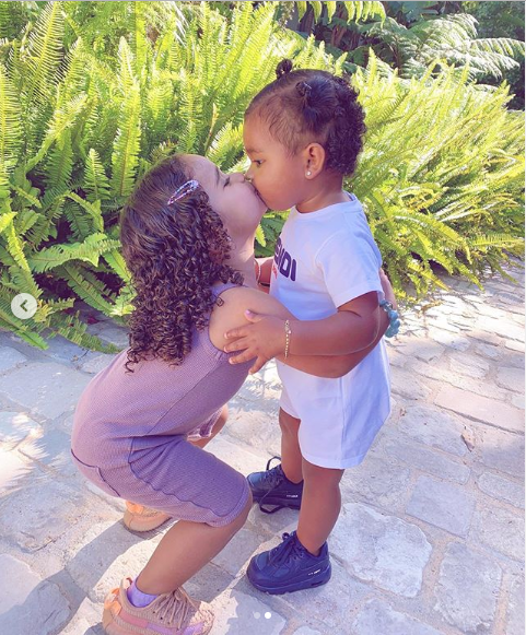 Khloe Kardashian shares adorable photos of her daughter True Thompson posing with her cousin, Dream