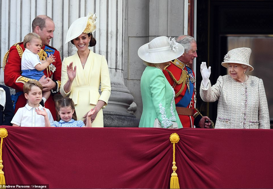 Prince Louis makes his Buckingham Palace balcony debut as he joins