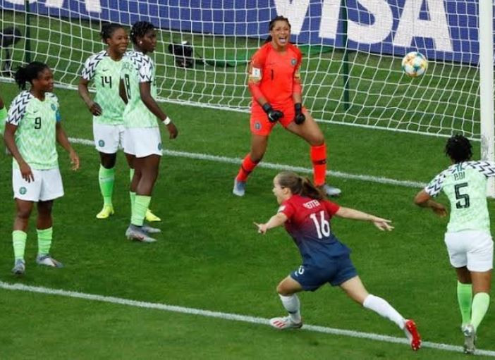 2019 Women's World Cup: Super Falcons of Nigeria suffer shocking defeat against Norway