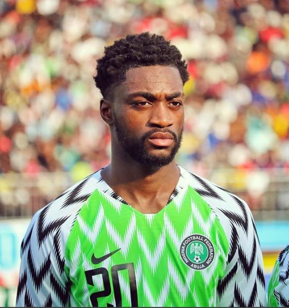 Super Eagles defender Semi Ajayi reacts after being dropped by coach Rohr from 23-man squad for 2019 AFCON