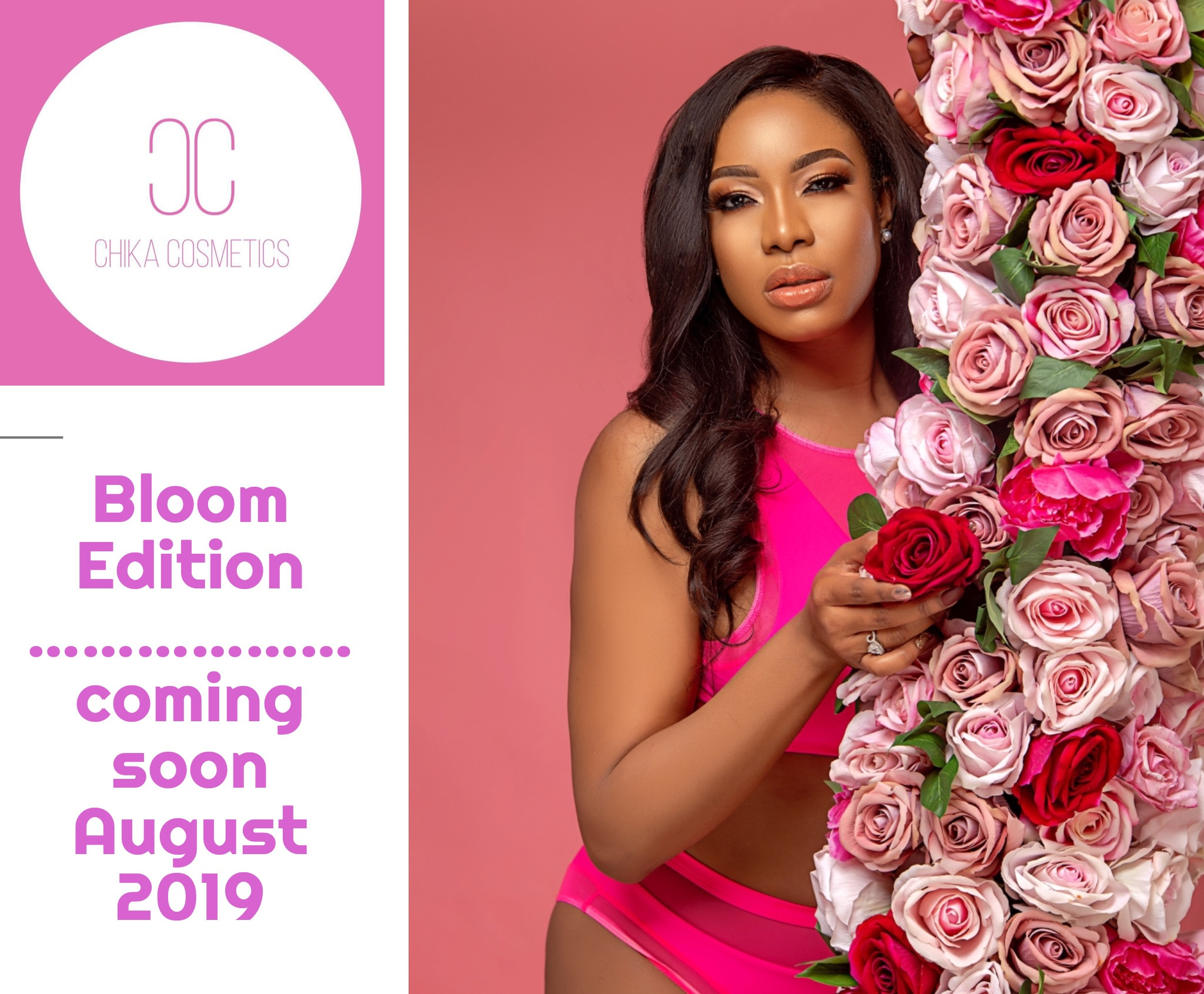 Chika Ike sets to launch her beauty line Chika Cosmetics