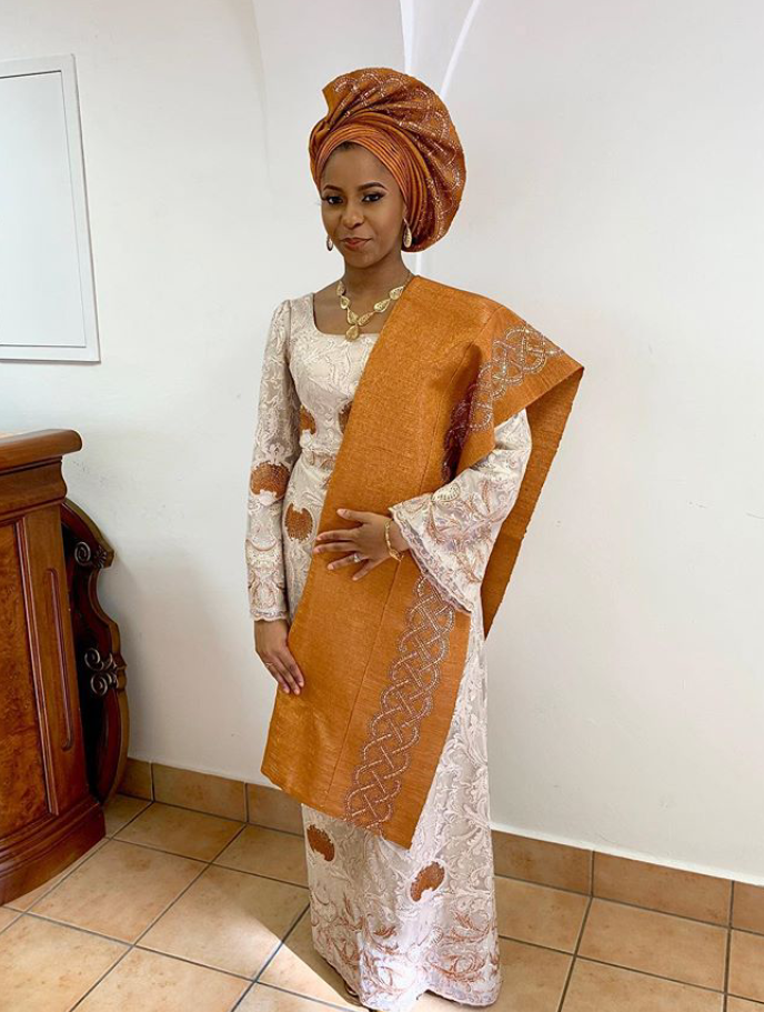 ice President daughter Dami Osinbajo looks gorgeous as she steps out for Democracy Day celebration in Abuja
