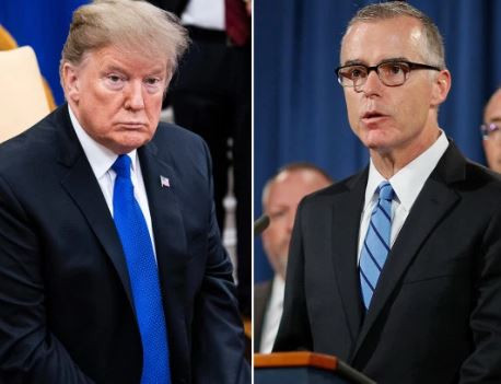 'Its time to begin an impeachment inquiry into President Trump' -Former FBI Director, Andrew McCabe