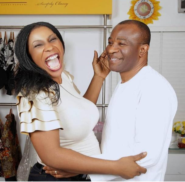 Fashion entrepreneur Nkechi Harry Ngonadi celebrates her 12th wedding anniversary with very interesting story