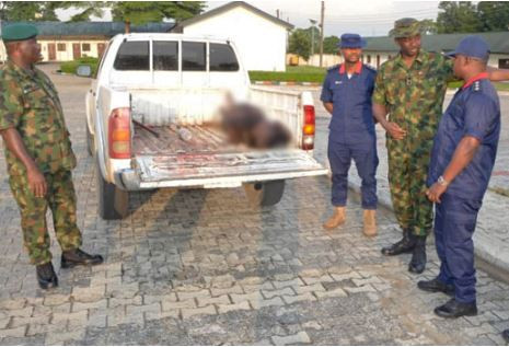 One Soldier, two NSCDC officials murdered by suspected militants in Rivers State
