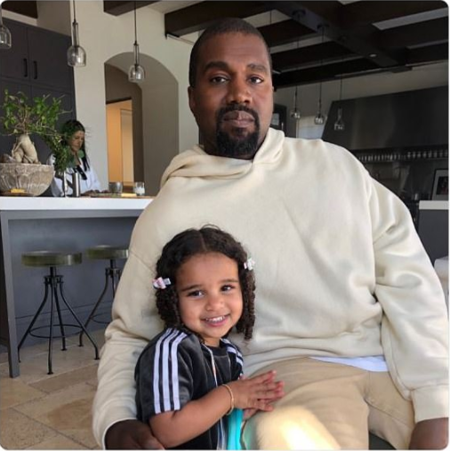 'Best picture ever' - Rob Kardashian say as she shares cute photo of Kanye West posing with his daughter, Dream