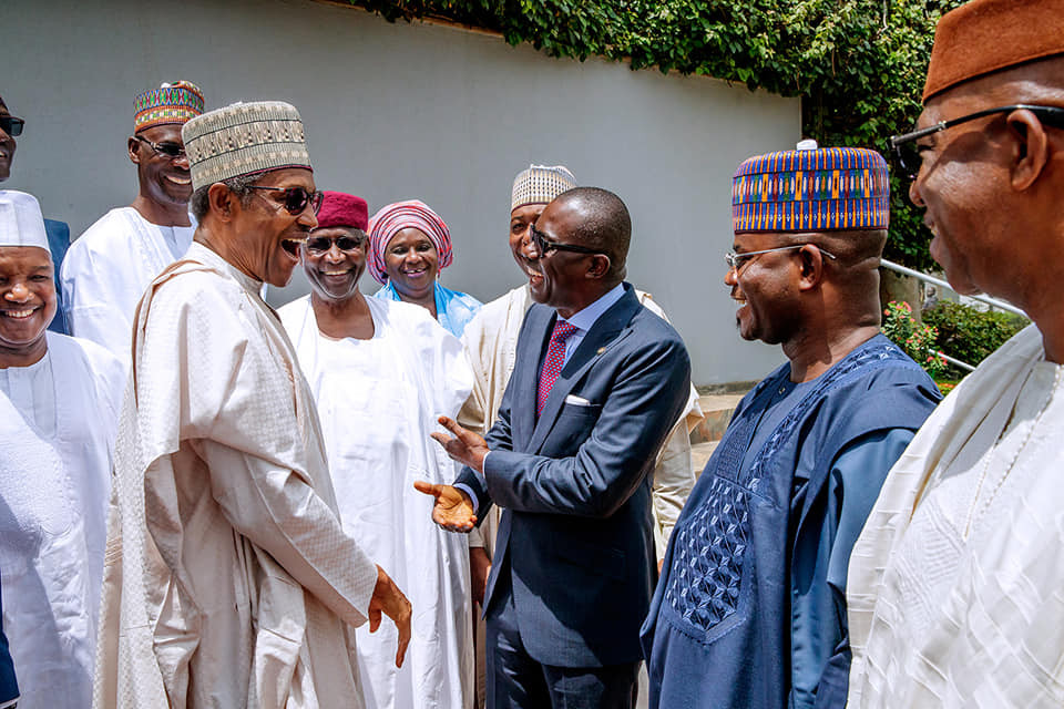 President Buhari meets withAPC Governors in Abuja (Photos)