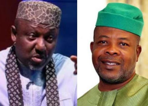 More drama in Imo State as Governor Ihedioha sends police to raid and confiscate clothes, chairs, fridges from Okorocha's daughter's shop (Video)