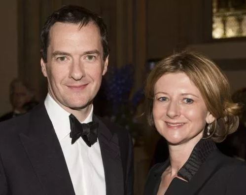 Ex-Chancellor, George Osborne divorces wife, Frances after 21 years of marriage