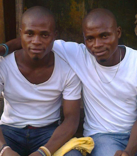 Twin brothers laid to rest together after dying months apart from the same ailment