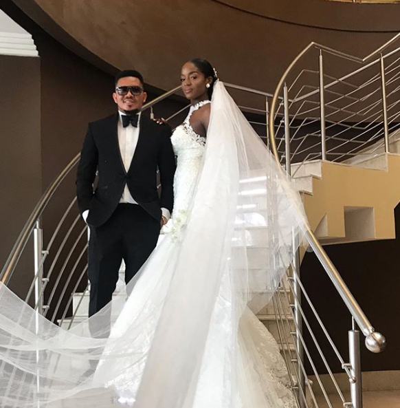Smash of Bracket marries his Ivorian wife in Lagos lindaikejisblog 3