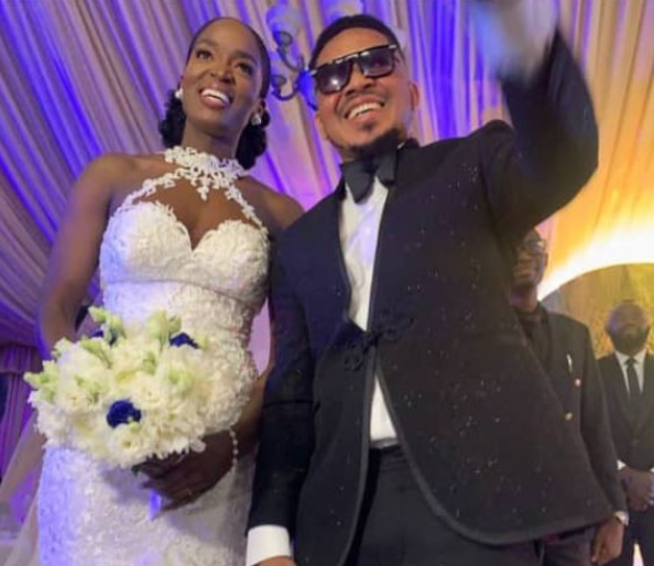 Smash of Bracket marries his Ivorian wife in Lagos
