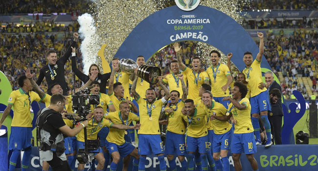 Brazil Defeat Peru To Win Copa America lindaikejisblog