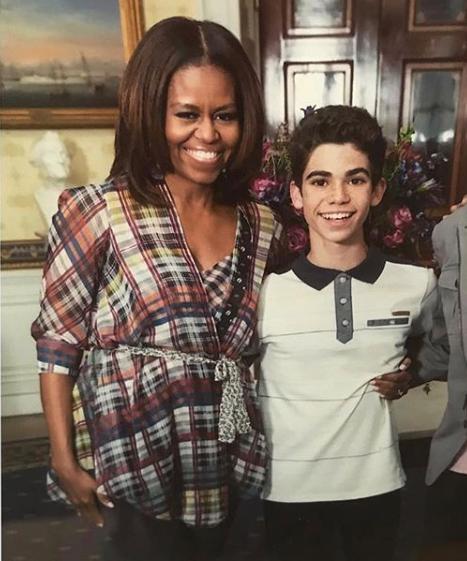 Michelle Obama pens down touching tribute to Cameron Boyce lindaikejisblog