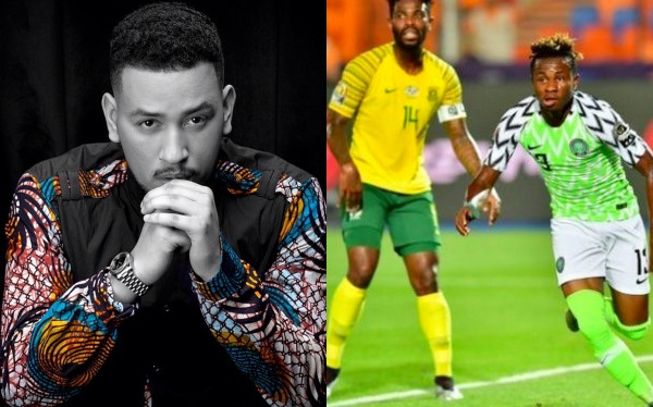 AFCON AKA reacts to South Africa's defeat by Nigeria lindaikejisblog