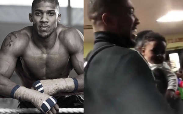 Anthony Joshua visits Nigeria for the first time since 2017 lindaikejisblog