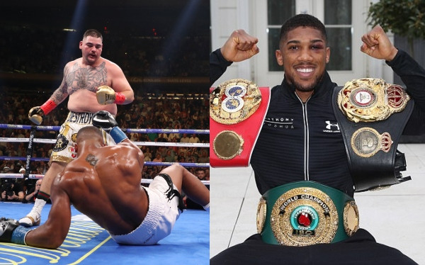 Andy Ruiz says he will refuse a rematch with Anthony Joshua in US, says he calls the shots lindaikejisblog