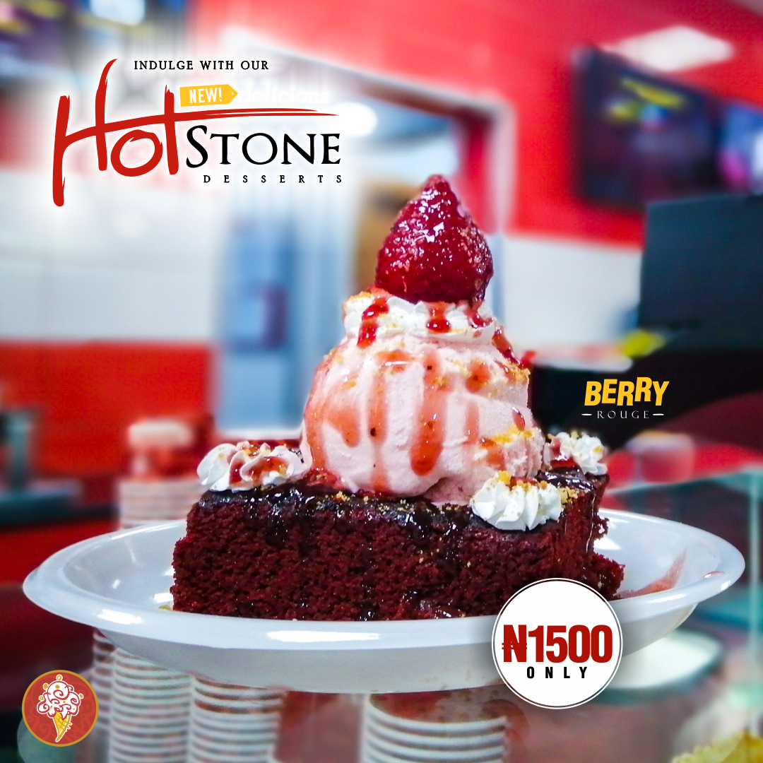 Hot Stone The Perfect Warm Dessert for the Rainy Season