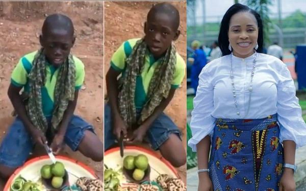 Young hawker with an amazing voice goes viral after singing Tope Alabi's song lindaikejisblog