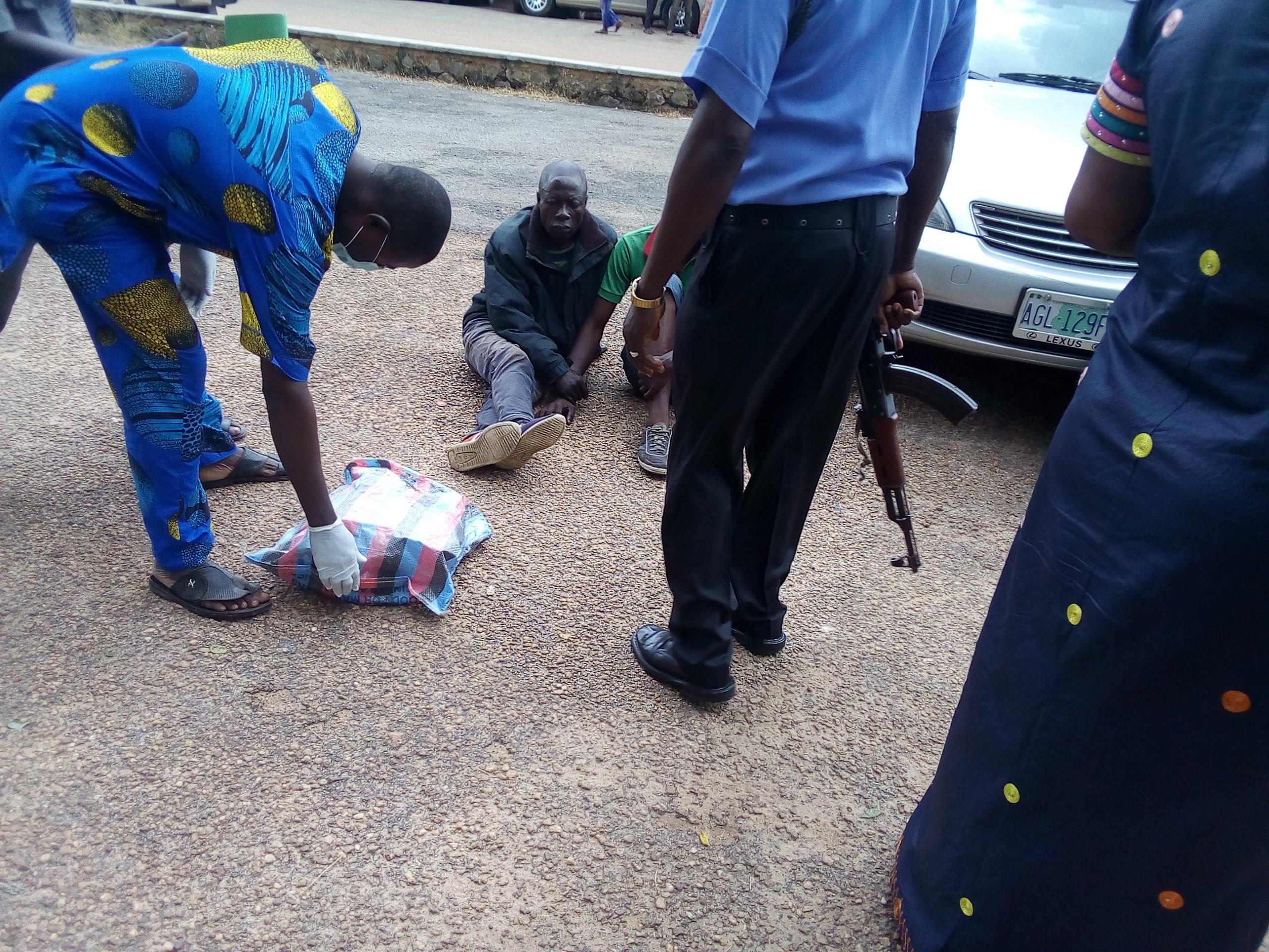 Police arrest two in possession of human skulls in Oyo lindaikejisblog