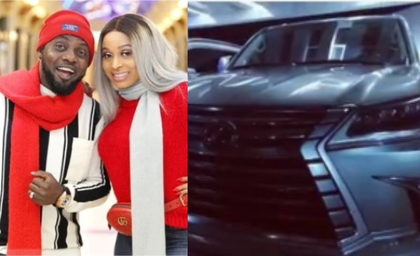 AY gifts wife, Mabel Makun a new car lindaikejisblog