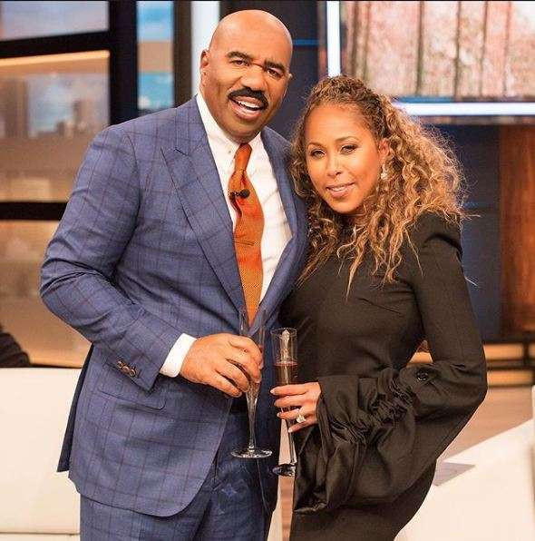 Steve Harvey's wife, Marjorie is 'charging her fans $8,000 each' to attend her lavish 55th birthday bash in October
