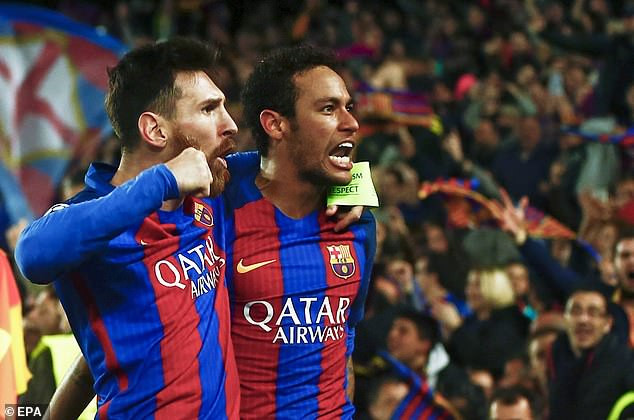 Neymar mocks his own club, says beating PSG 6-1 when he was with Barcelona is his favourite moment on the pitch