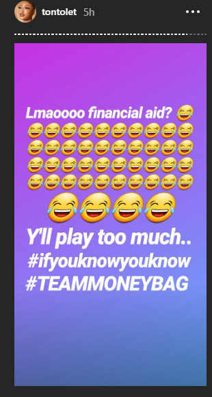 Tonto Dikeh laughs off being given 'financial aid' by Blessing Osom lindaikejisblog 1