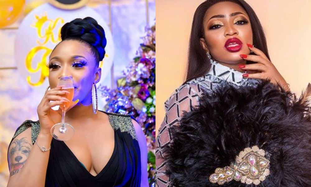 Tonto Dikeh laughs off being given 'financial aid' by Blessing Osom lindaikejisblog