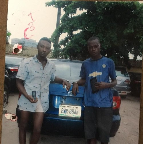 Two nabbed for snatching Taxify drivers car in Lagos lindaikejisblog