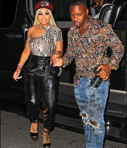 Blac Chyna steps out with mystery man for Wendy Williams' birthday party (Photos)