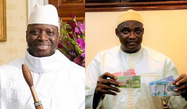 Gambia removes Yahya Jammehs image from bank notes lindaikejisblog