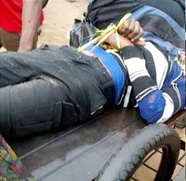 Soldier allegedly trace tricyclist to his house, shoots him dead over N100 bribe in Aba lindaikejisblog 1