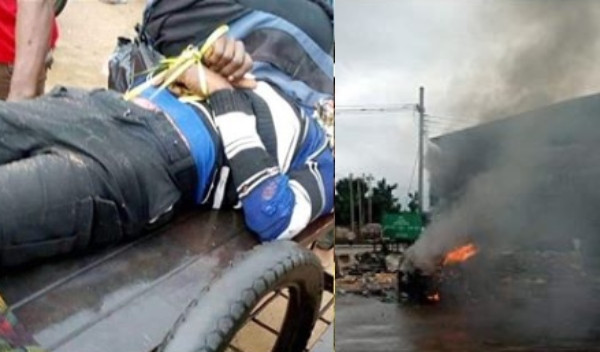 Soldier allegedly trace tricyclist to his house, shoots him dead over N100 bribe in Aba lindaikejisblog