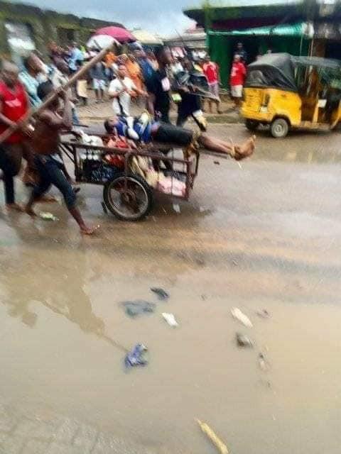 Motorcyclist allegedly shot dead by soldier over N100 bribe in Aba lindaikejisblog  3