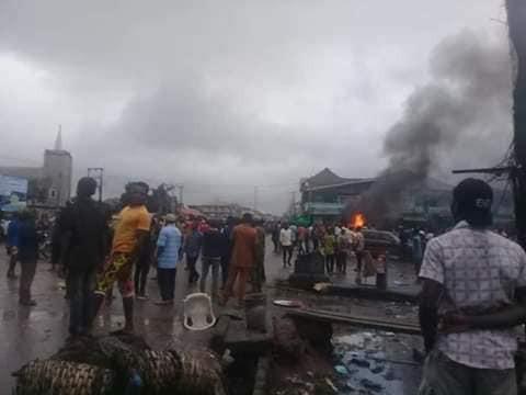 Motorcyclist allegedly shot dead by soldier over N100 bribe in Aba lindaikejisblog  4