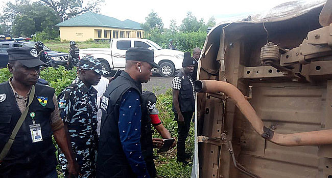 Investigative panel visits scene where police officers were killed by soldiers in Taraba lindaikejisblog 2