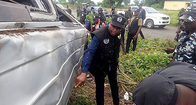 Investigative panel visits scene where police officers were killed by soldiers in Taraba lindaikejisblog
