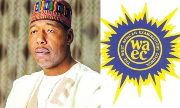 Governor Zulum pays WAEC registration fees of 24, 323 Borno students lindaikejisblog