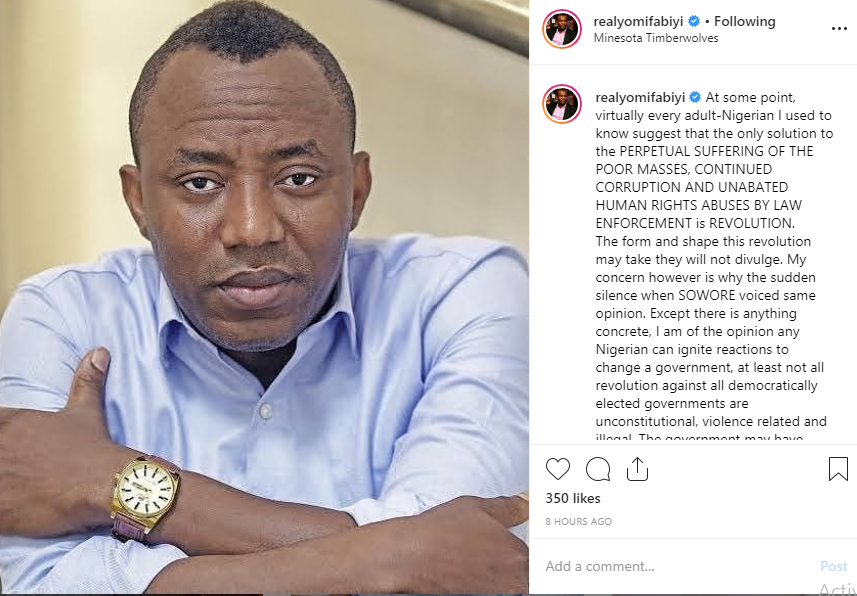 The government may have facts against Sowore, but the people have the truth - Yomi Fabiyi writes lindaikejisblog