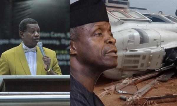What God told me about Osinbajos helicopter crash  Pastor Adeboye lindaikejisblog 1