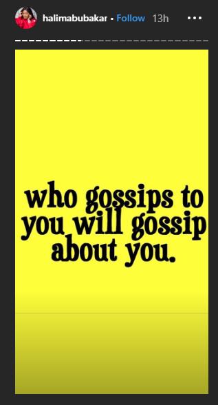Stop using gossip as a bonding tool - Halima Abubakar throws shades lindaikejisblog 3