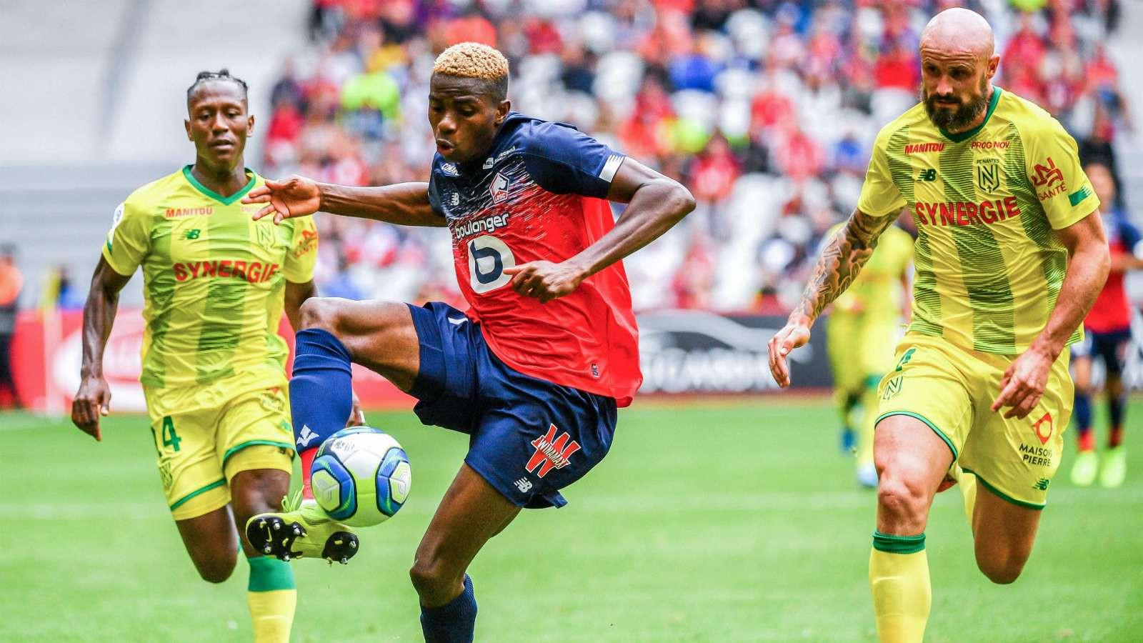 Victor Osimhen scores a brace on Lille debut against Nantes lindaikejisblog